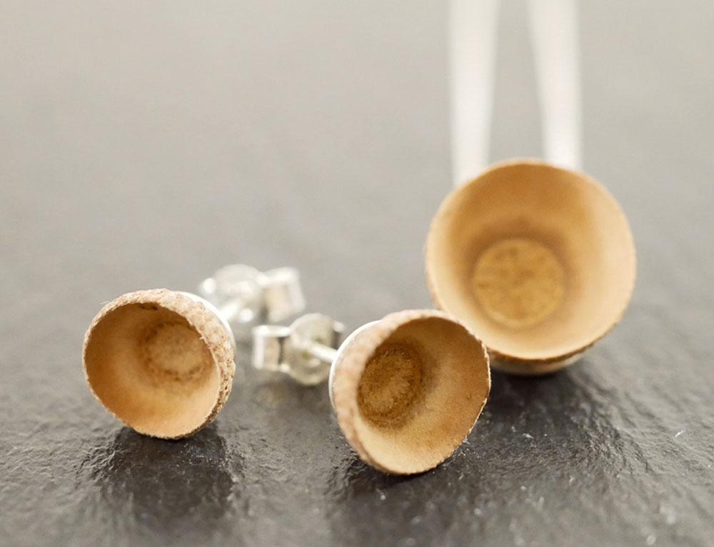 Schmuckstücke aus Naturmaterialien
